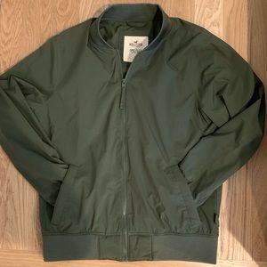 HCo men's nylon bomber jacket